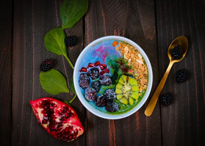 Brodo di frutta per intestino