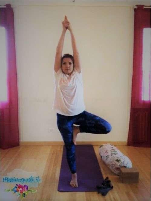 Marina Giusti Insegnante di Yoga